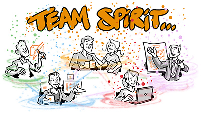 Visual Facilitators Team Spirit